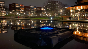Onthulling monument 'Levenslicht' in Stadstuinen Amstelveen