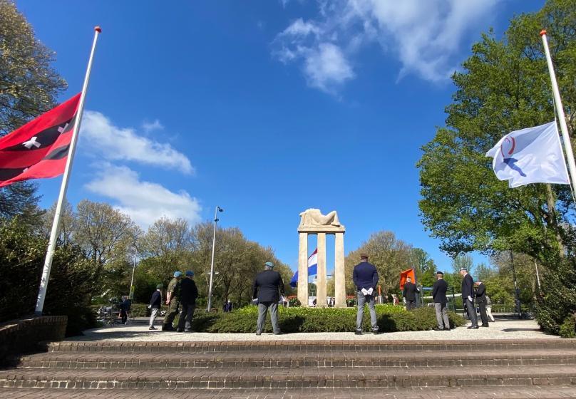 Geen gezamenlijke herdenkingsplechtigheid bij monument Amstelveen
